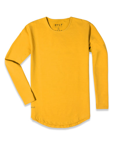 Drop-Cut Long Sleeve: LUX (FINAL SALE) Prairie