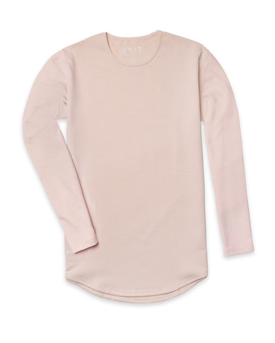 Drop-Cut Long Sleeve: LUX (A FINAL SALE) Satin