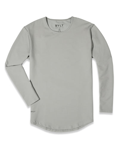 Drop-Cut Long Sleeve: LUX (A FINAL SALE) Storm