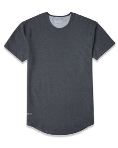 Dark Heather Grey - Drop-Cut LUX