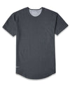 Drop-Cut: LUX <!-- Size M --> Dark Heather Grey - Drop-Cut LUX