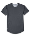 Drop-Cut Shirt Dark Heather Grey - Drop-Cut Shirt