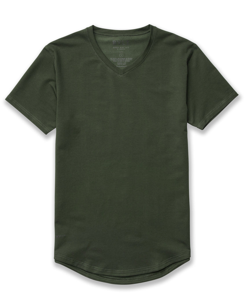 Forest - Drop-Cut V-Neck LUX