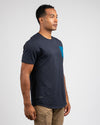Drop-Cut: LUX Pocket Navy/Swell - Drop-Cut LUX Pocket Shirt