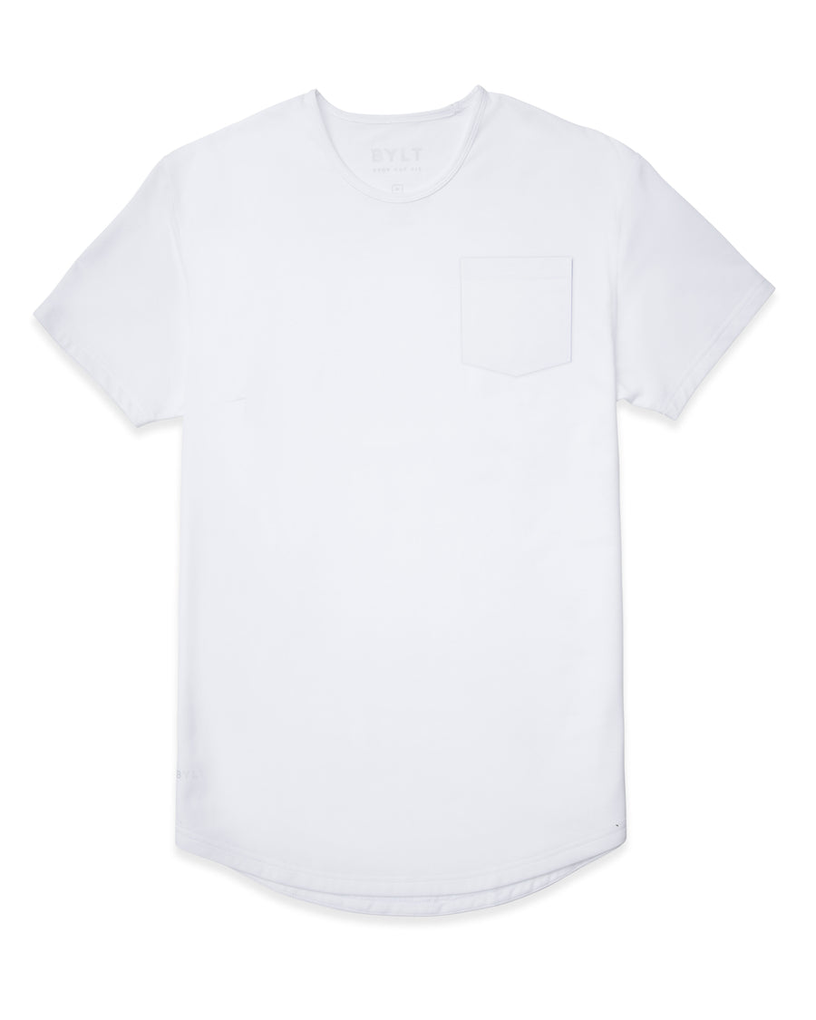 White - Drop-Cut LUX Solid Pocket