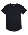 Drop-Cut: LUX Pocket <!-- Size XXL --> Black - Drop-Cut LUX Pocket Shirt