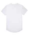Drop-Cut: LUX Pocket <!-- Size XXL --> White - Drop-Cut LUX Pocket Shirt