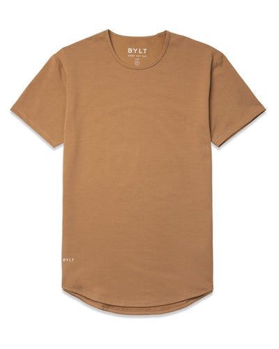 Drop-Cut Shirt (FINAL SALE) Toast