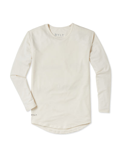 Drop-Cut Long Sleeve (A FINAL SALE) Bone