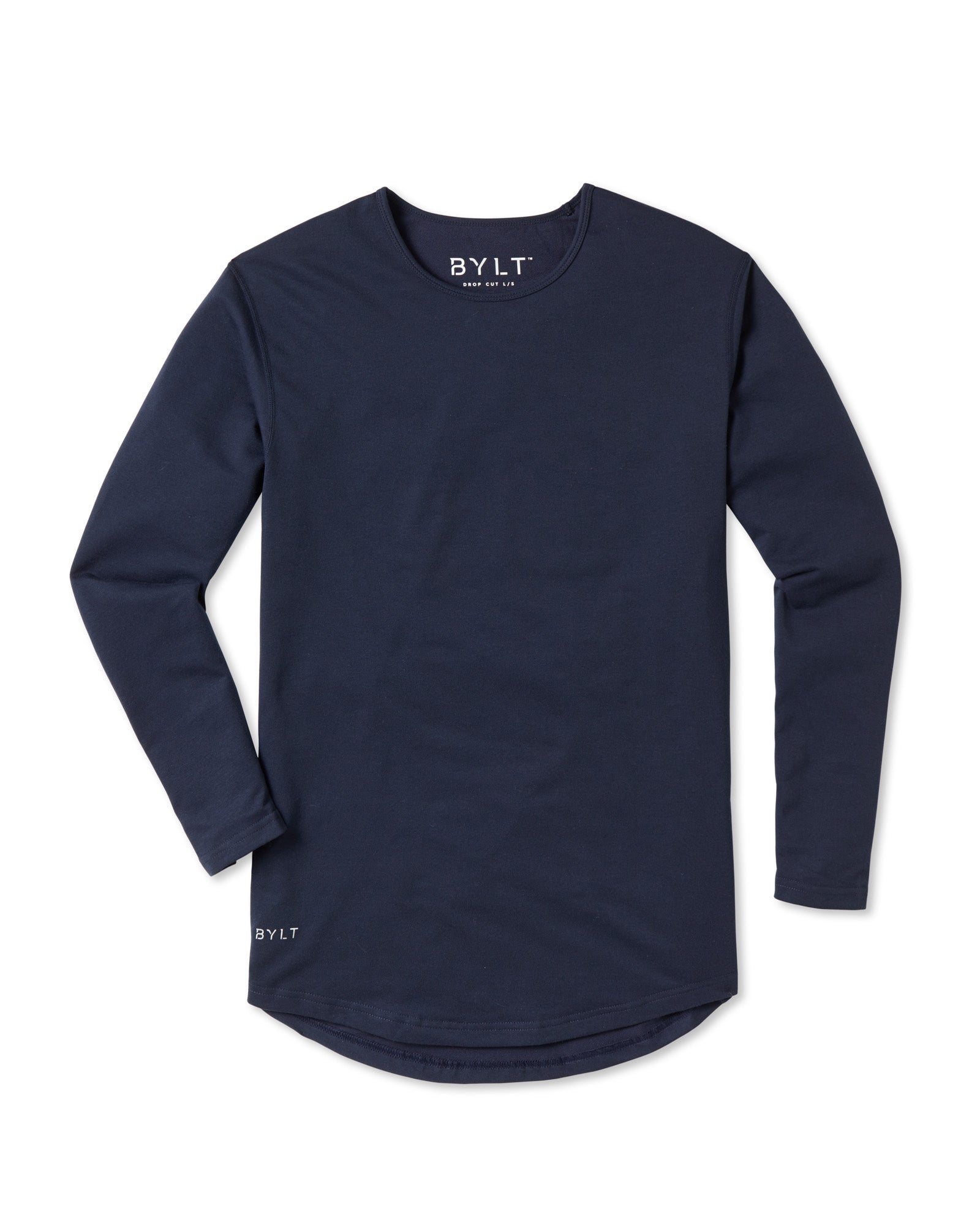 Drop-Cut Long Sleeve