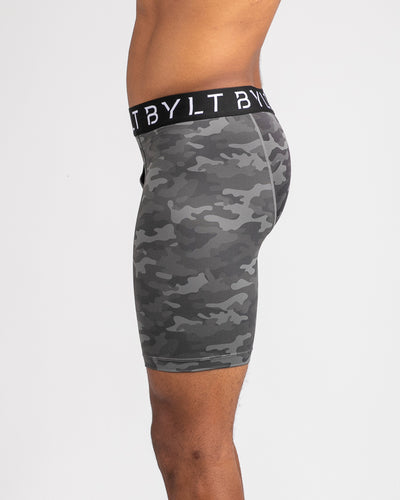 Flex Boxer Briefs Gunmetal / Camo - Flex Boxer Brief
