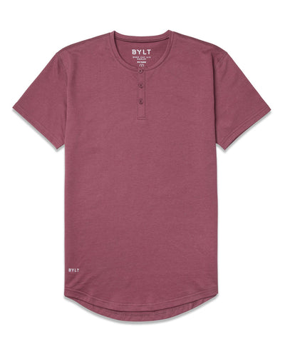 Henley Drop-Cut: LUX (FINAL SALE) Wine