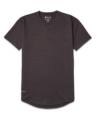 Henley Drop-Cut - 2019 Style - (FINAL SALE) Espresso