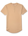 Henley Drop-Cut <!-- Size S --> Almond