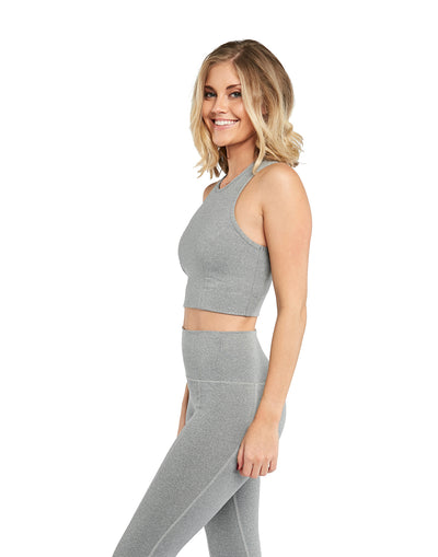 The BYLT Crop Top Grey