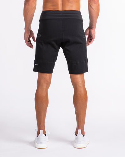 Men's Premium Jogger Shorts Black