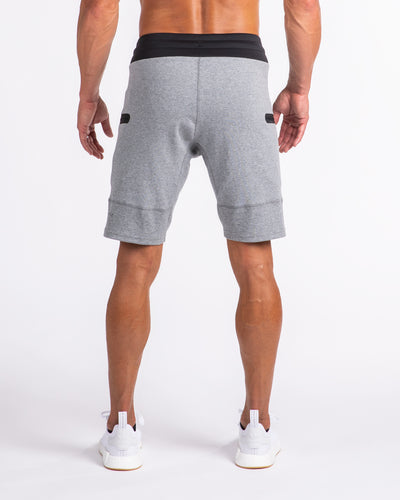 Men's Premium Jogger Shorts Heather Grey