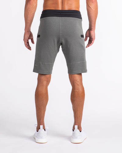 Men's Premium Jogger Shorts Gunmetal