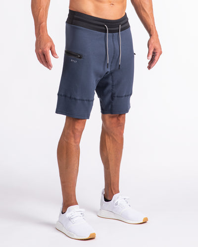 Men's Premium Jogger Shorts (FINAL SALE) Navy Blue