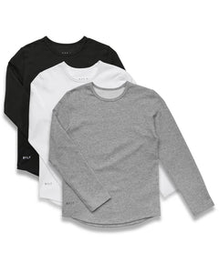 Kid's Drop-Cut Long Sleeve: LUX - Custom Pack