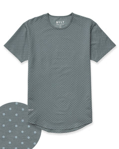 Pacific/Slate - Dotted Drop-Cut: LUX