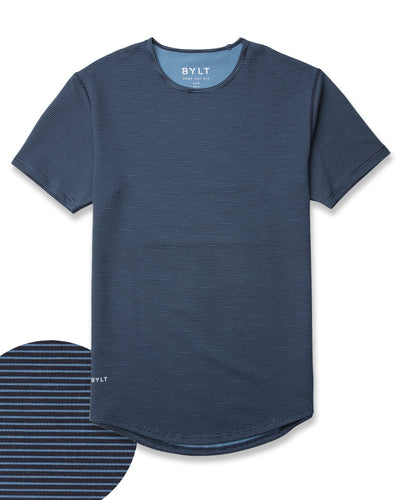 Drop-Cut: LUX <!-- Size S --> Stripe/Navy/Marine - Drop-Cut LUX