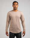 Drop-Cut Long Sleeve: LUX <!-- Size M --> Sand - Drop-Cut: LUX Long Sleeve
