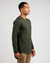 Drop-Cut Long Sleeve: LUX <!-- Size S --> Forest - Drop-Cut: LUX Long Sleeve