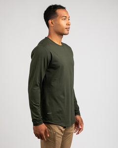 Forest - Drop-Cut: LUX Long Sleeve