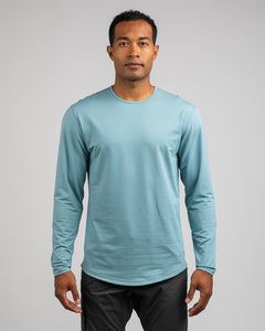 Slate - Drop-Cut: LUX Long Sleeve