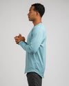 Drop-Cut Long Sleeve: LUX <!-- Size M --> Slate - Drop-Cut: LUX Long Sleeve
