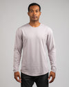 Drop-Cut Long Sleeve: LUX <!-- Size M --> Iris - Drop-Cut: LUX Long Sleeve