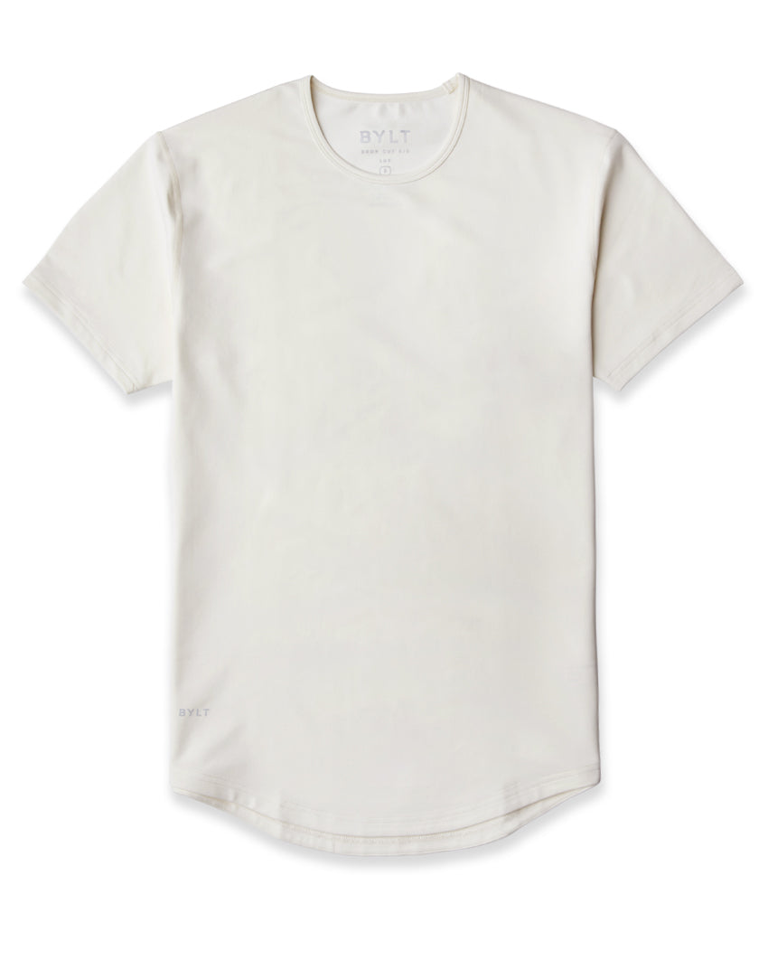Bone - Drop-Cut LUX Shirt