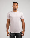 Henley Drop-Cut: LUX Iris - Henley Drop-Cut LUX Shirt