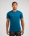 Henley Drop-Cut: LUX Swell - Henley Drop-Cut LUX Shirt