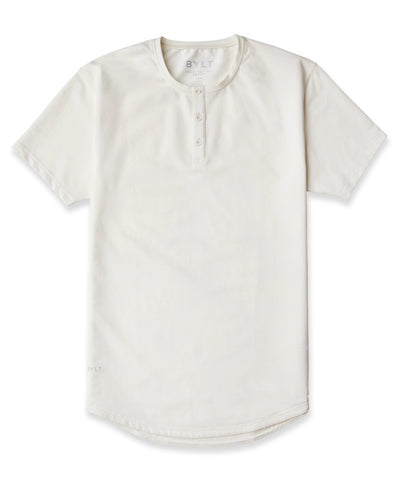 Bone -  Henley Drop-Cut LUX Shirt