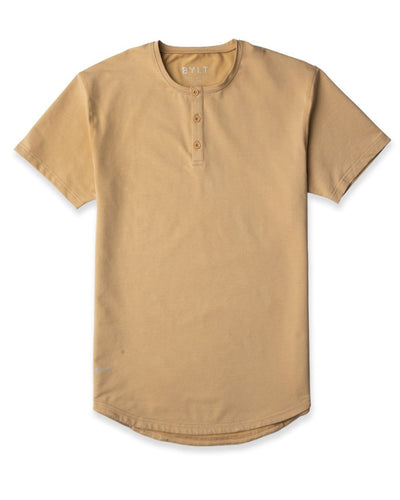 Henley Drop-Cut <!-- Size S --> Dune - Henley Drop-Cut