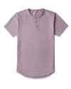 Henley Drop-Cut: LUX Dusk -  Henley Drop-Cut LUX Shirt