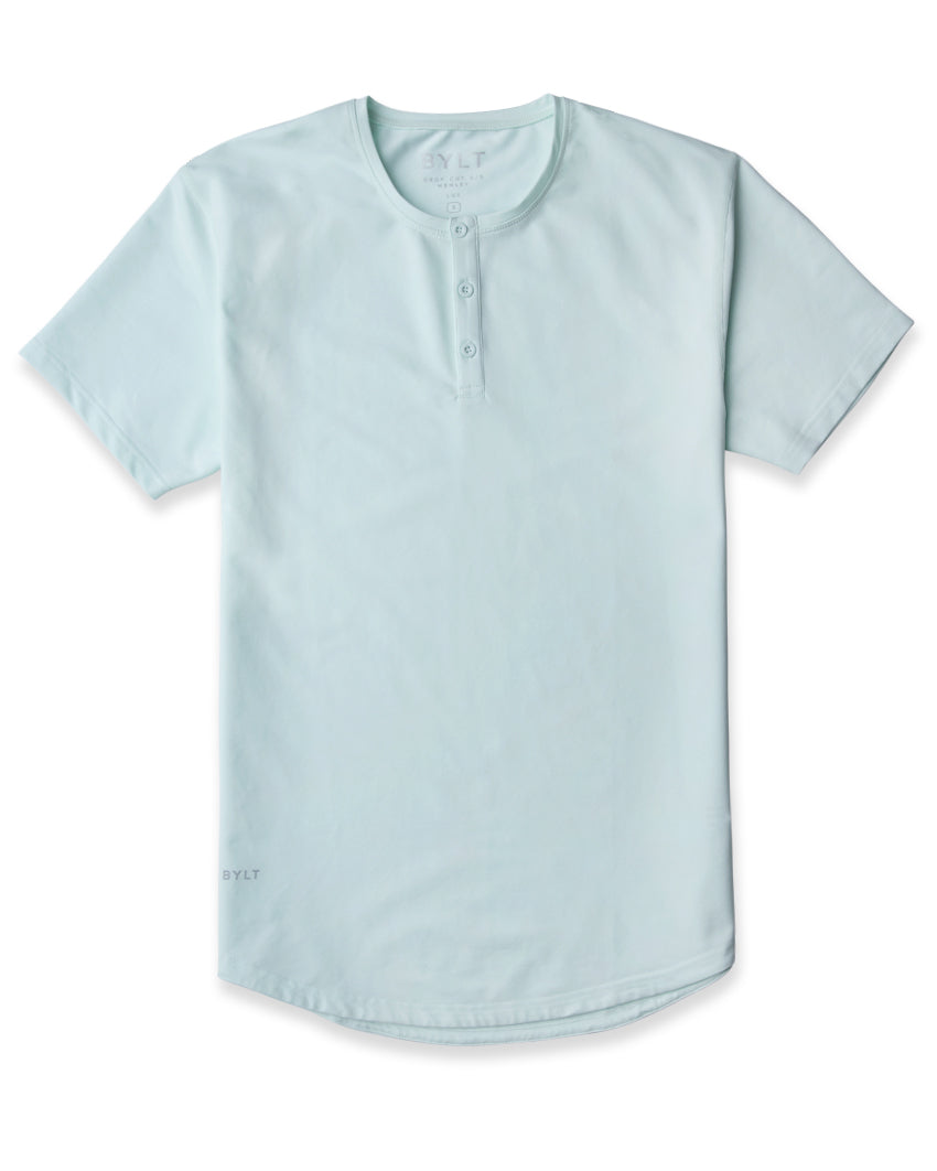 Sea Breeze - Drop-Cut LUX Henley