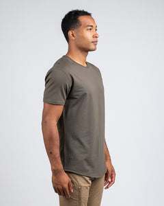 Stone - Drop-Cut LUX Shirt