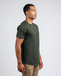Forest - Drop-Cut LUX Shirt