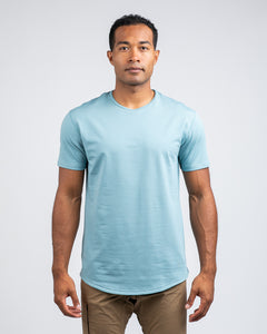 Slate - Drop-Cut LUX Shirt
