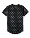 Drop-Cut: LUX Macrodot Black/Charcoal Drop-Cut LUX Macrodot Shirt