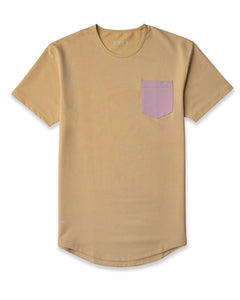 Dune/Dusk - Drop-Cut LUX Pocket Shirt