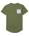 Drop-Cut: LUX Pocket <!-- Size XXL --> Military/Storm