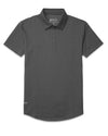 Drop-Cut: LUX Polo Charcoal - Drop-Cut: LUX Polo