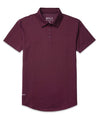 Drop-Cut: LUX Polo Maroon - Drop-Cut: LUX Polo