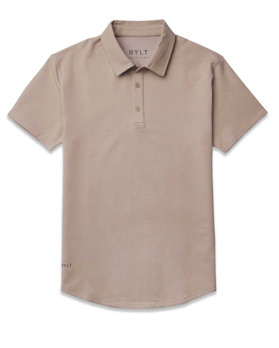 Sand Drop-Cut: LUX Polo