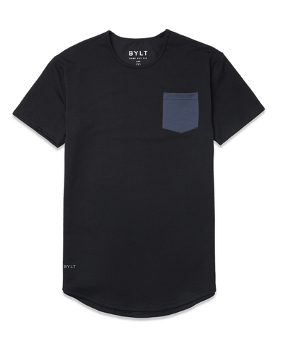 Drop-Cut: LUX Pocket <!-- Size XXL --> Black Midnight