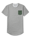 Drop-Cut: LUX Pocket <!-- Size XXL --> Grey/Pine